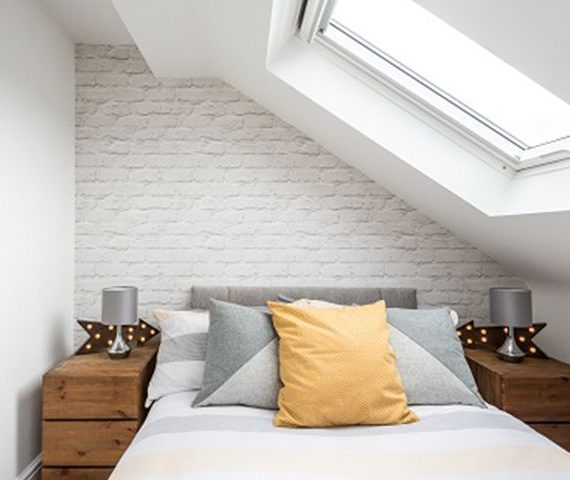 loft room with velux window